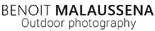 Benoit Malaussena Outdoor Photography Logo